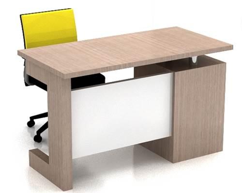 Model meja kerja minimalis modern